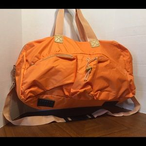 Sydney Love's Sydney To Go Bright Orange Duffle